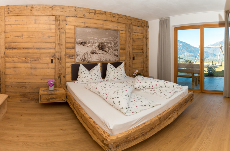Ferienwohnung Schenna 2 Schlafzimmer Pool